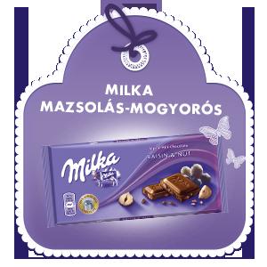 MILKA MAZSOLÁS-MOGYORÓS 100G
