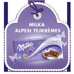 MILKA ALPESI TEJKRÉMES 100G