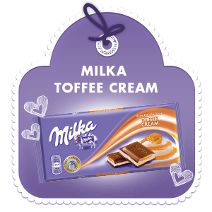 MILKA TOFFEE CREAM 100G