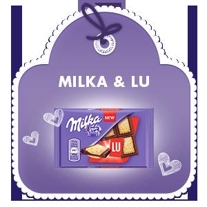MILKA & LU 35G
