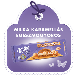 MILKA KARAMELLÁS EGÉSZMOGYORÓS 300G