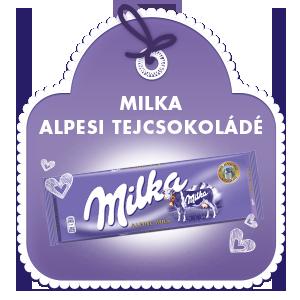 MILKA ALPESI TEJCSOKOLÁDÉ 300G