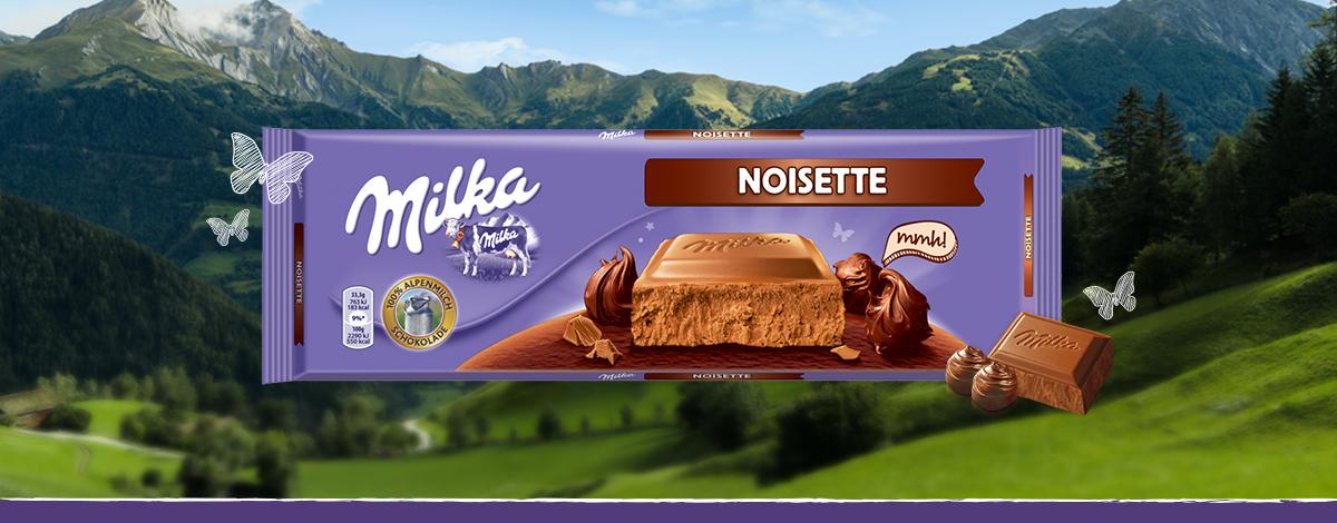 MILKA NOISETTE300G