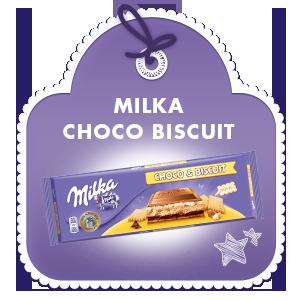MILKA CHOCO BISCUIT 300G