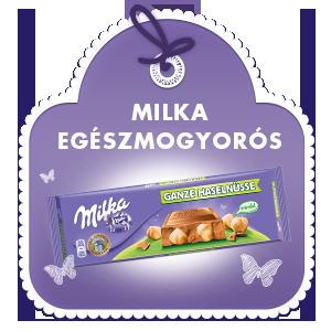 MILKA EGÉSZMOGYORÓS 300G
