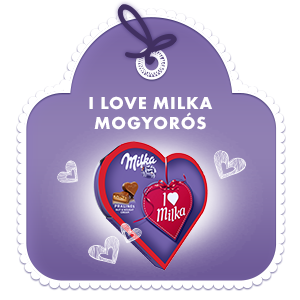 I LOVE MILKA MOGYORÓS 38,5G