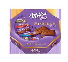 MILKA SINGLES MIX 147G