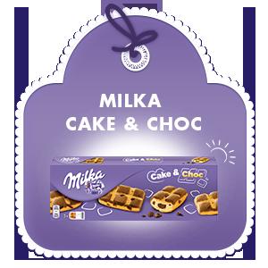 MILKA CAKE & CHOC 175G