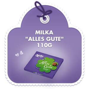 Milka Alles Gute 110g