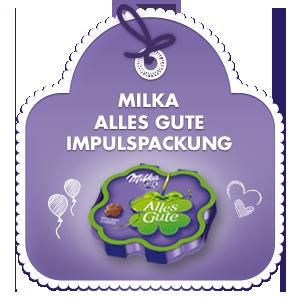 Milka Alles Gute 50g