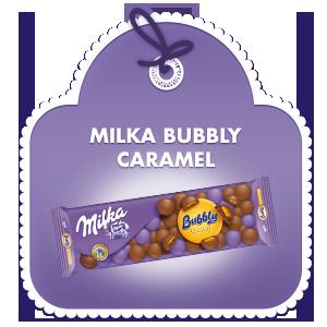 Milka Bubbly Caramel 250g