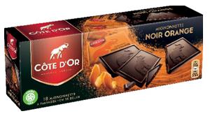Chocolat Mignonnette Noir Orange Côte d'Or