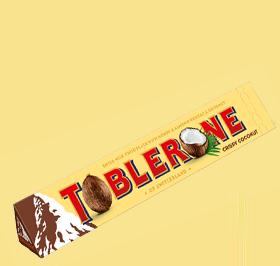 Toblerone Crispy Coconut 100g