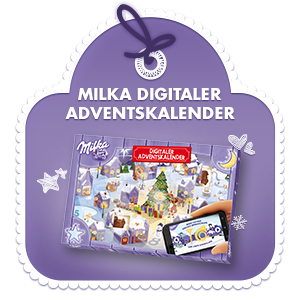 milka digitaler adventskalender 200g. Black Bedroom Furniture Sets. Home Design Ideas