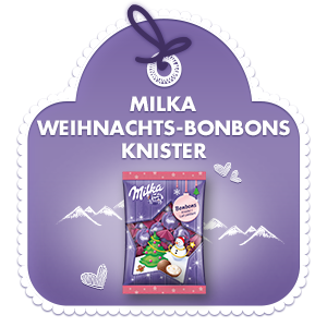 Milka Weihnachts-Bonbons Knister 86g