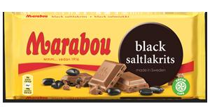 Marabou Black saltlakrits