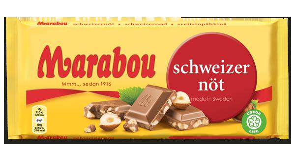 Marabou Schweizernød