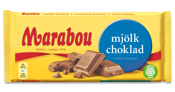 marabou choklad innehåll