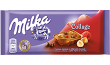 Milka Collage Framboos