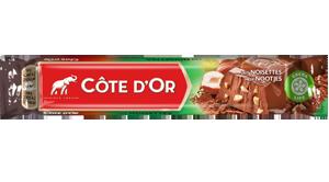 Chocolat Bâton Lait Noisettes Côte d'Or