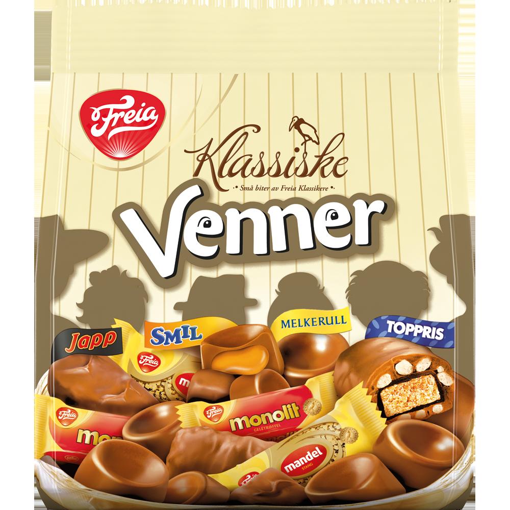 Freia Klassiske Venner (240 g)