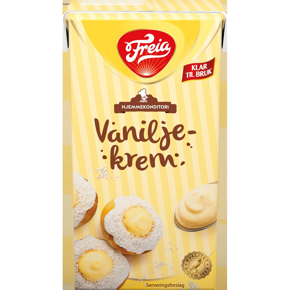 Freia Vaniljekrem klar til bruk (500 ml)