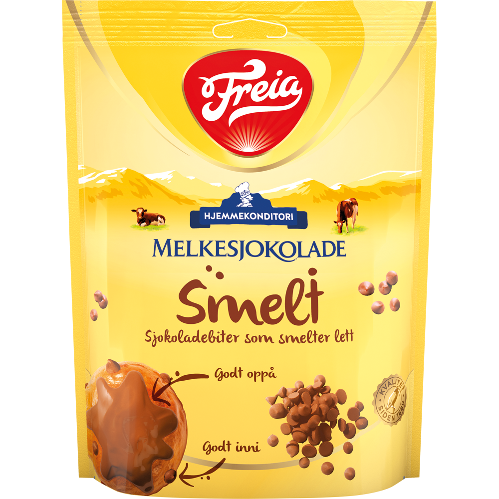 Freia Smelt Melkesjokolade (200 g)