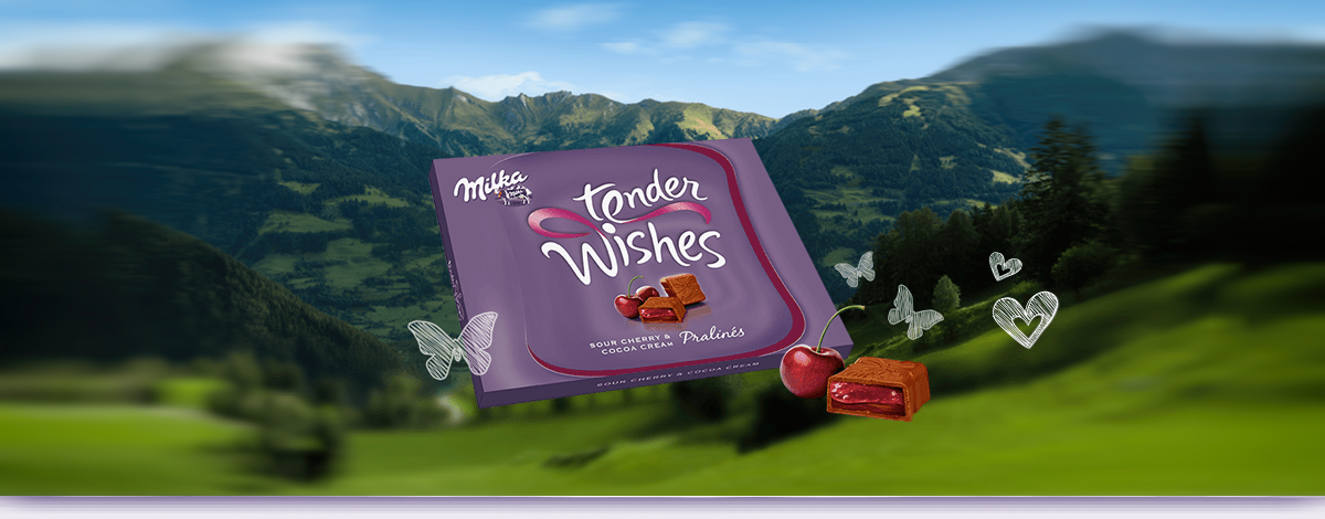 MILKA TENDER WISHES
