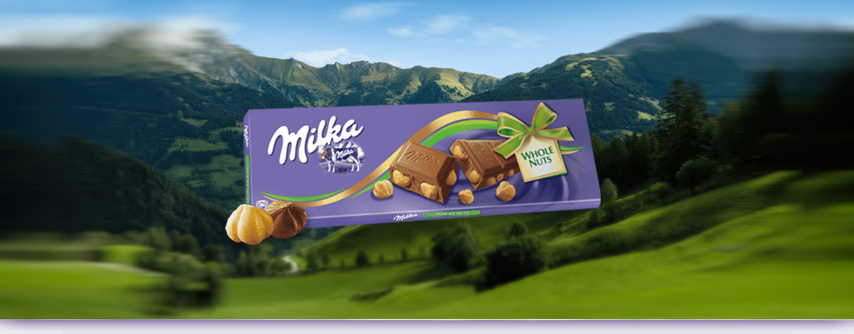 MILKA WHOLE NUT