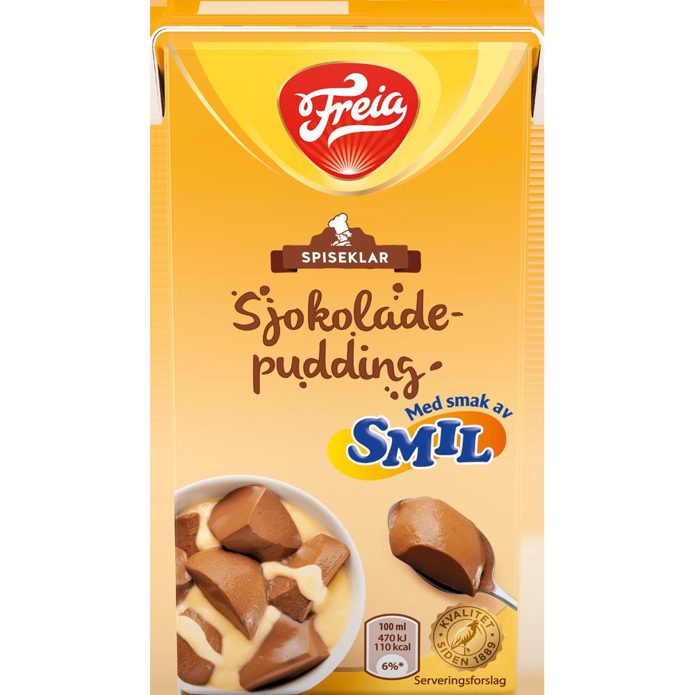 Freia Sjokoladepudding med Smil spiseklar (500 ml)