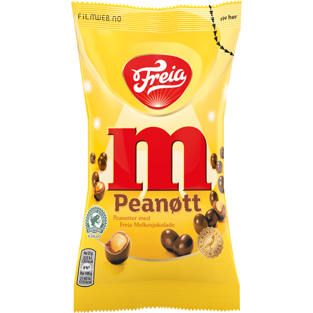 Freia M Peanøtt (90 g)