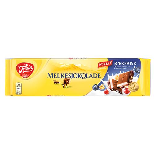 Freia Melkesjokolade Bærfrisk (200g)