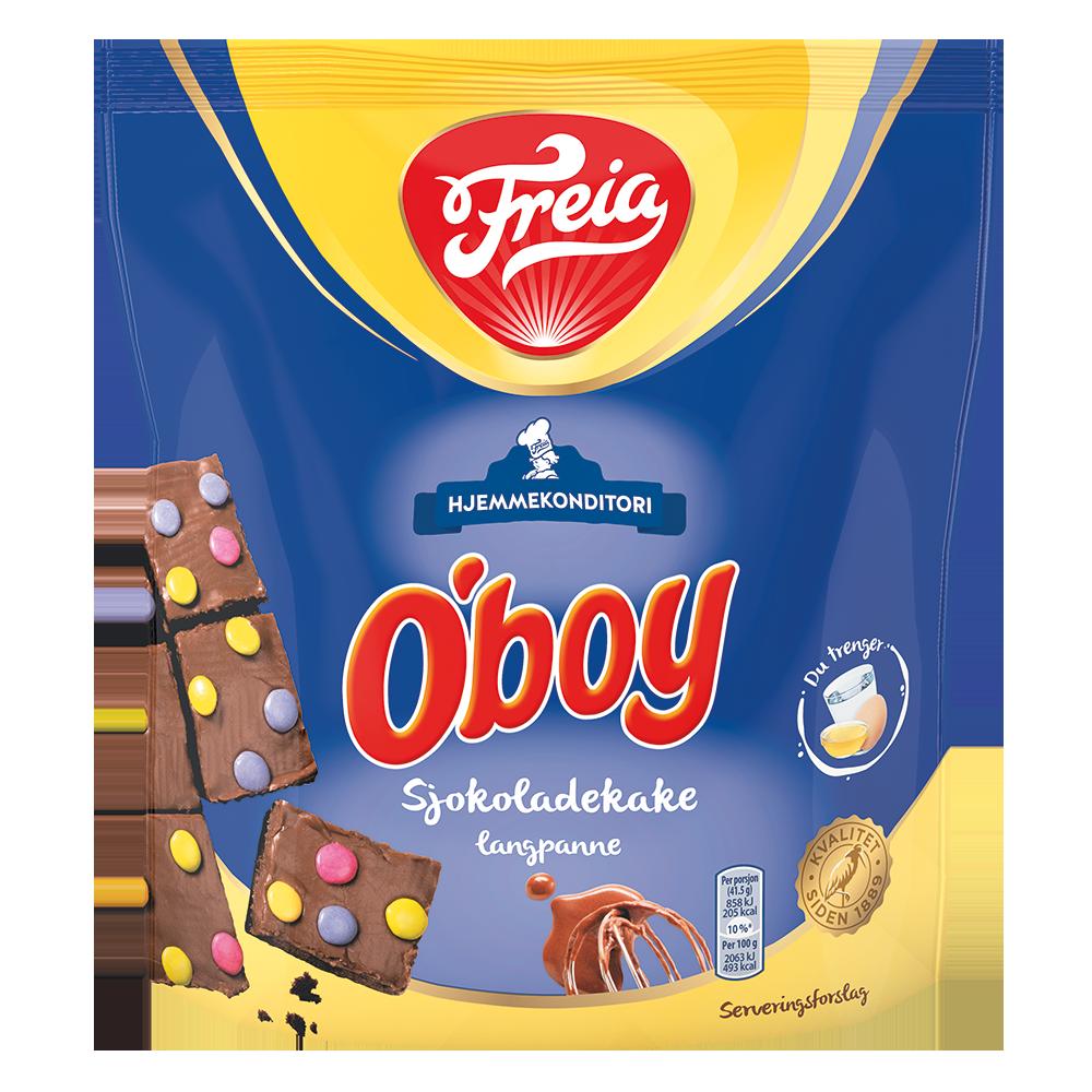 Freia O'boy Sjokoladekake langpanne (730g)