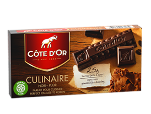 Chocolat Culinaire Côte d'Or
