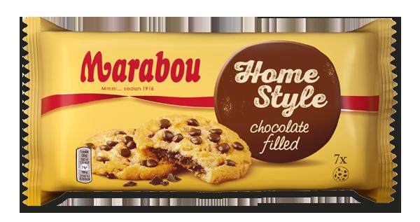 kakor med chokladfyllning