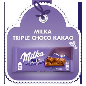 Milka Triple Choco Kakao