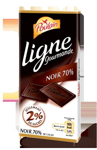 Ligne gourmande - Noir 100 g