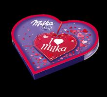 I love Milka Impulsherz Valentin 50g