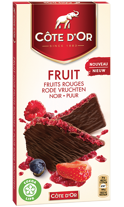 Côte d'Or FRUIT Rode vruchten