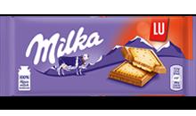Milka Alpenmilch Schokolade & LU Kekse