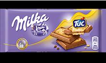 Milka Alpenmilch & TUC Cracker