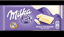 Milka Weisse Schokolade