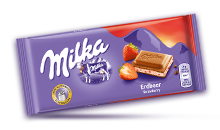 MILKA STRAWBERRY 100 g