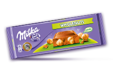 MILKA WHOLE NUTS 270 g