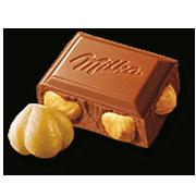 MILKA WHOLE NUTS 250 g