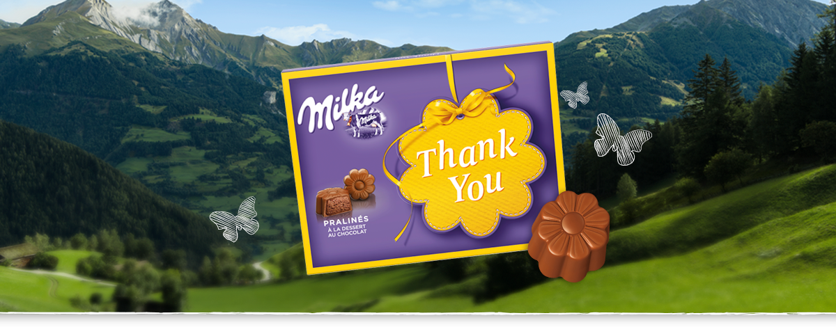 MILKA THANK YOU 120 g