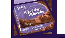 MILKA ALPEJSKIE MLECZKO CZEKOLADOWE 330 g