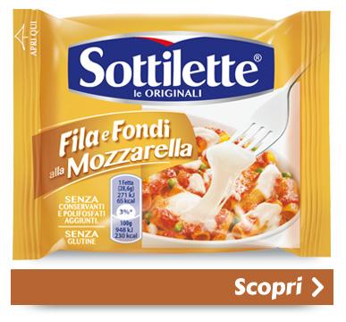Sottilette<sup>®</sup> Fila e Fondi