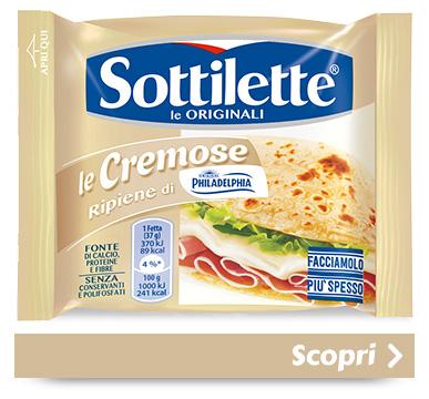 Sottilette<sup>®</sup> Le Cremose