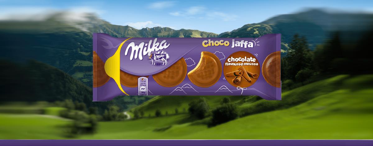 MILKA JAFFA CHOCO MOUSSE